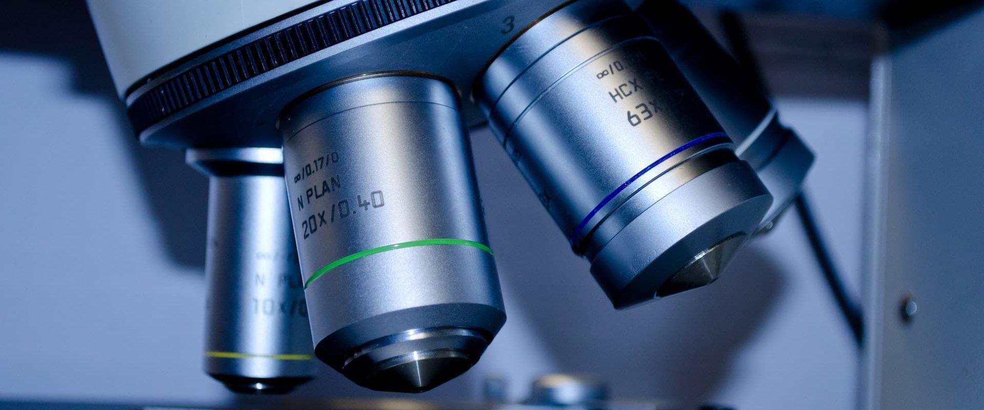 Nærbilde av teknologisk apparat i helsesektoren